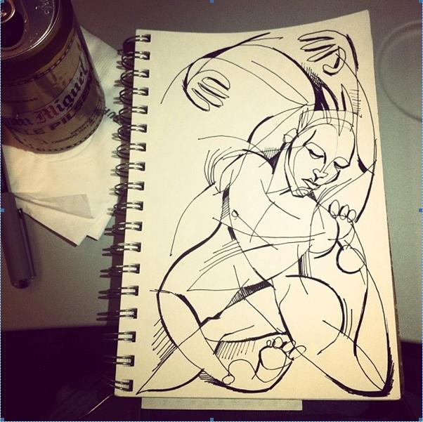 Captain Planet doodle